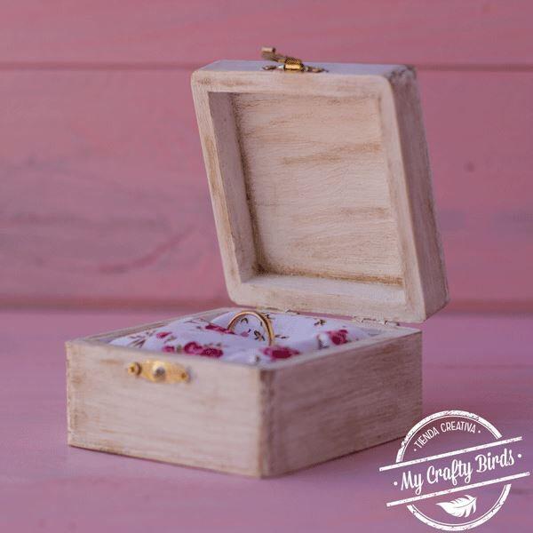 Tutorial para aprender a hacer una caja porta alianzas - Hacer cajas de madera ...