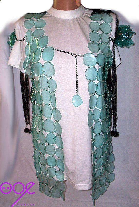 plastic bottle vest
