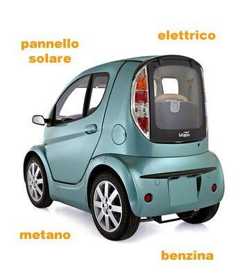 Volpe Hybrid, with solar panel, Zagato design