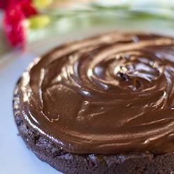 Schokoladenglasur (Ganache) @ de.allrecipes.com