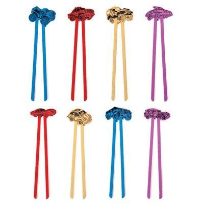 Children's Training Chopsticks – Cars http://littlebentoworld.com/shop/cutlery/training-chopsticks-cars/