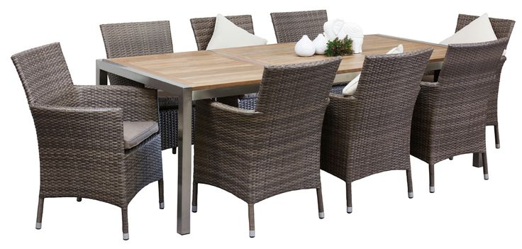 Outdoor Dining Sets - Indiana 8 Seater Westrock Table - Segals Outdoor Furniture Perth  sc 1 st  Pinterest & 42 best Outdoor Spaces images on Pinterest | Outdoor rooms Outdoor ...