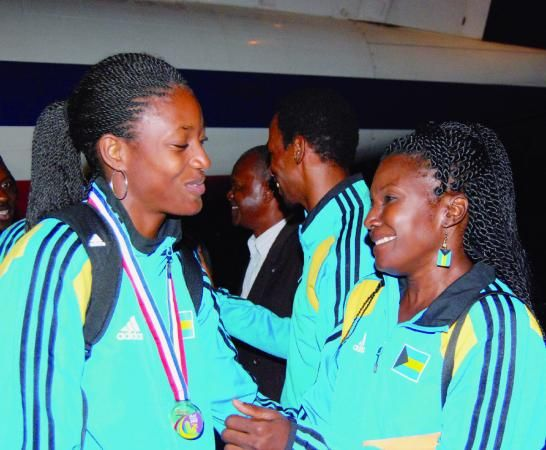 Shaunae Miller back home looking forward to #WorldRelays