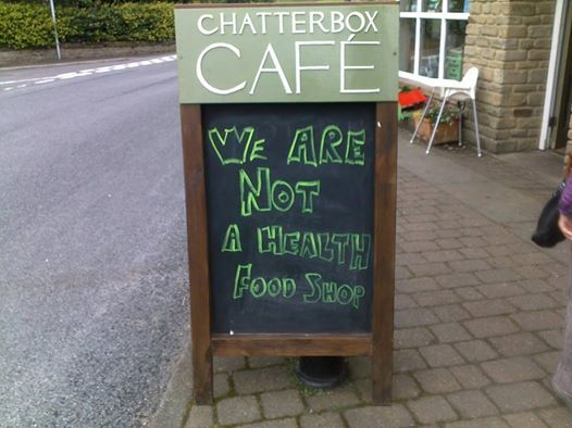 Chatterbox Cafe, Weardale, Co.Durham, UK