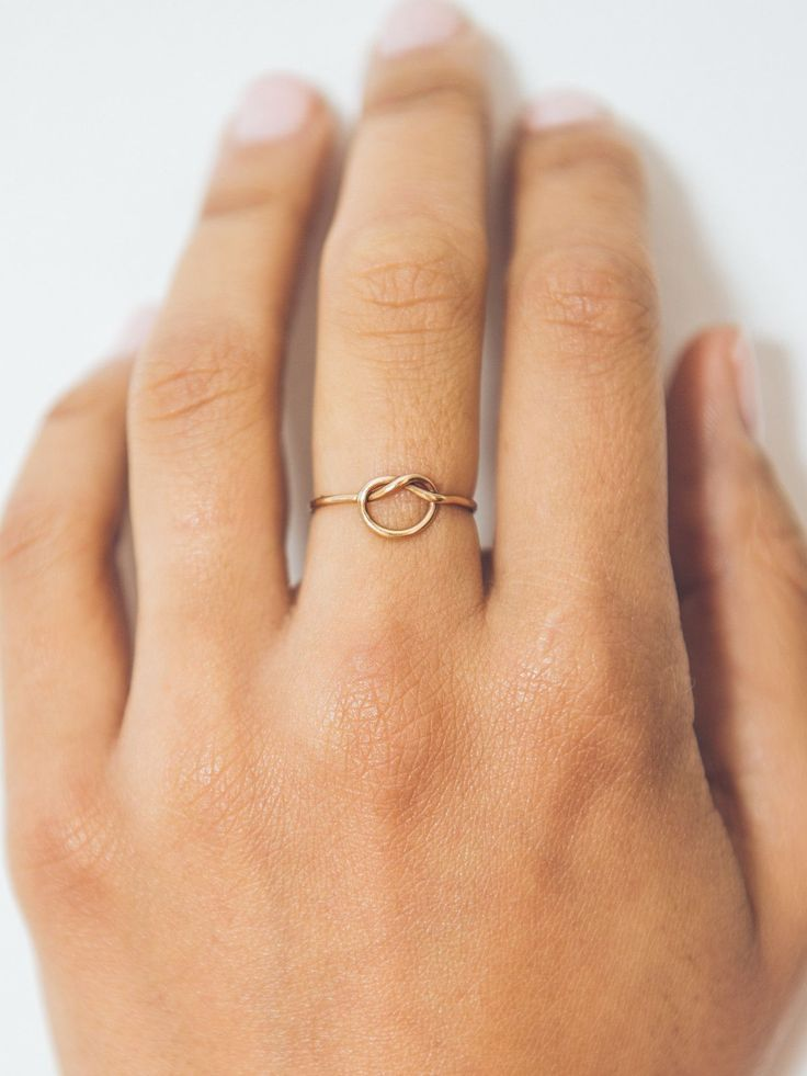 A sweet and simple everyday ring. It makes a …