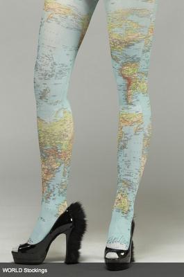 map tights