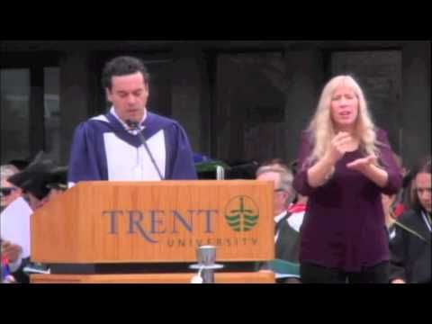 Honorary Degree Recipient Joseph Boyden's Convocation Address