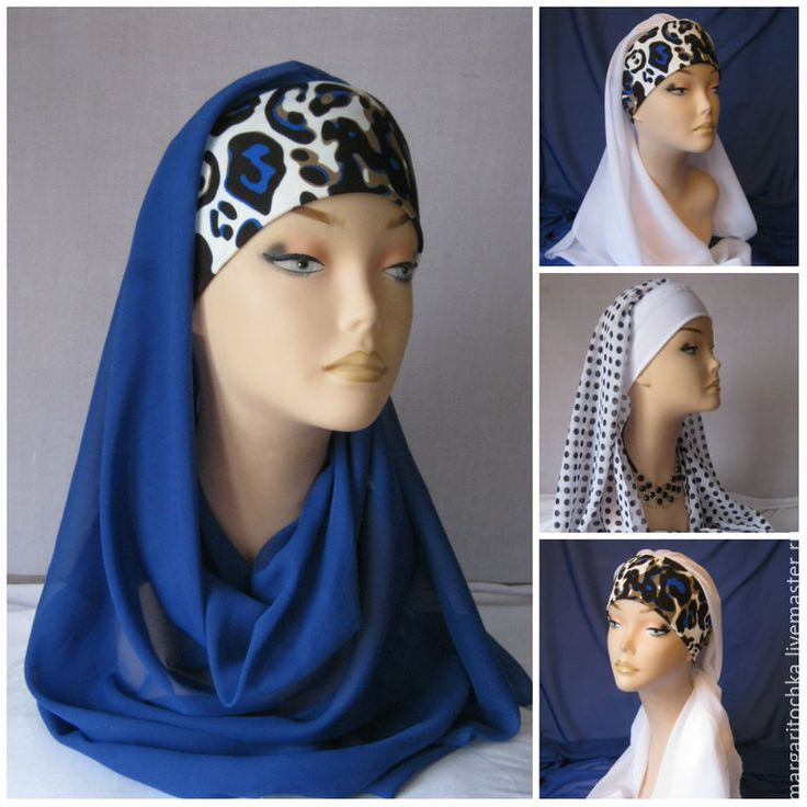 Купить Женский головной убор - православная одежда, головной убор для церкви, большие размеры, хиджаб