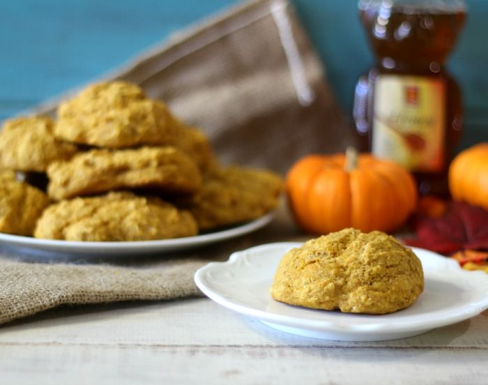 Whole Wheat Pumpkin Drop Biscuits - Light, fluffy, easy whole wheat ...