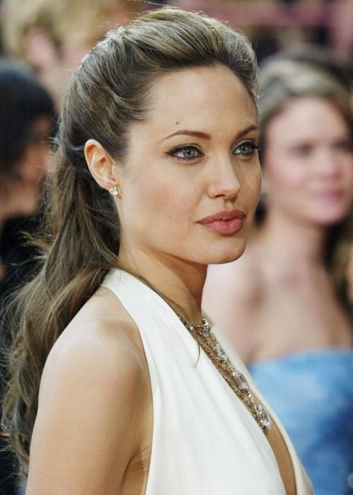 Angelina Jolie's beauty evolution - Grecian goddess
