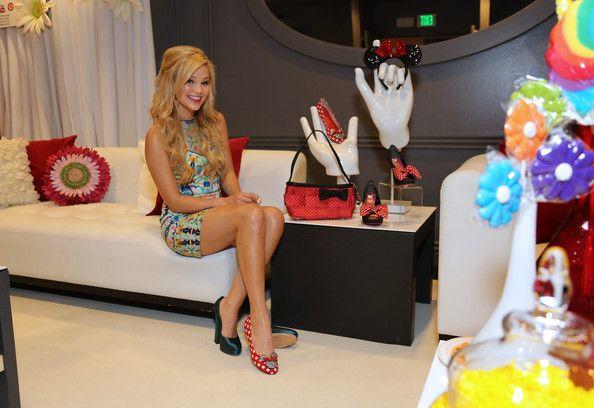 Olivia Holt ~ Minnie Gifting Lounge At The 2013 Radio Disney Awards