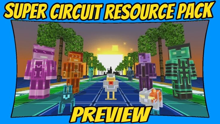 Super Circuit Resource Pack Preview [Minecraft Bedrock