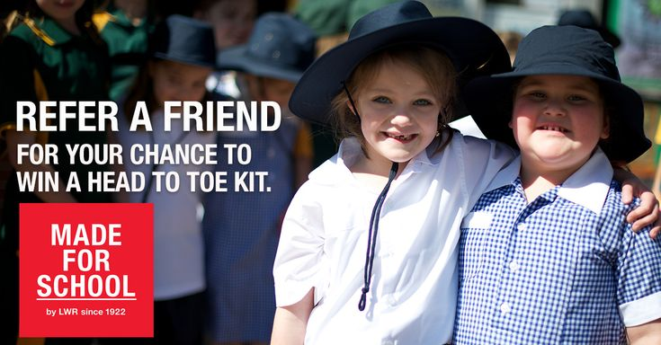Refer a Friend and Win!  Jump online for your chance to win a Head to Toe kit valued at $100 - Natalie