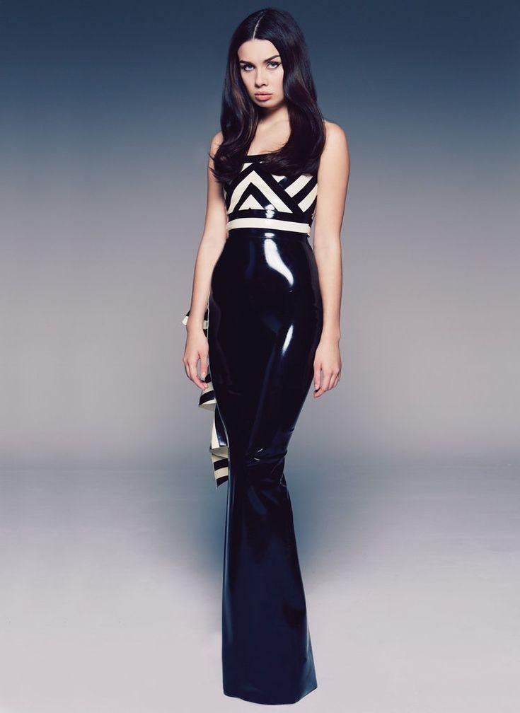 Latex Decadence Dress