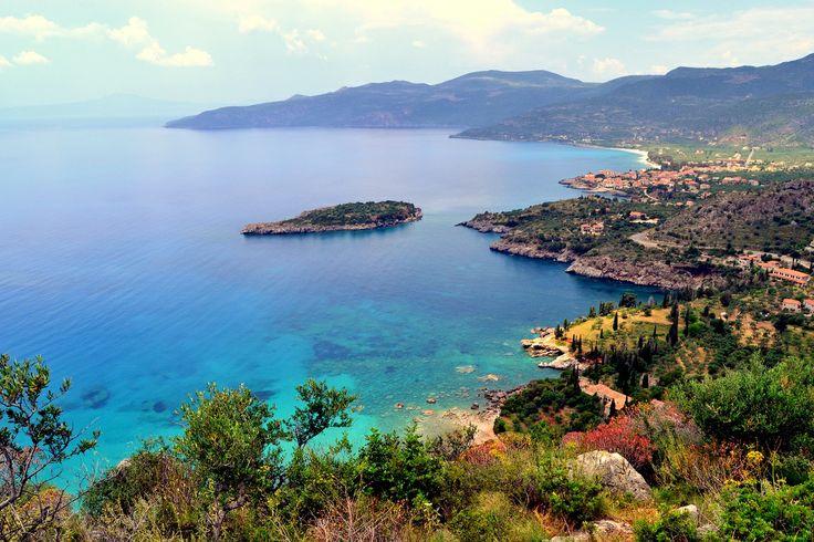 Kardamyli - panoramic view