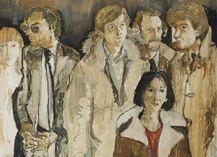 "RFM McInnis ""The Demise of Seventeenth Avenue"" (detail) 1979"