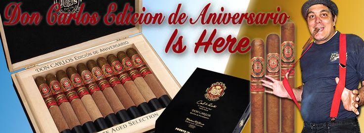 Arturo Fuente Don Carlos Aniversario. #sundayfunday #thebiggame #FFOX20yrs #bluebuzz #FFOX #gobigorgohome