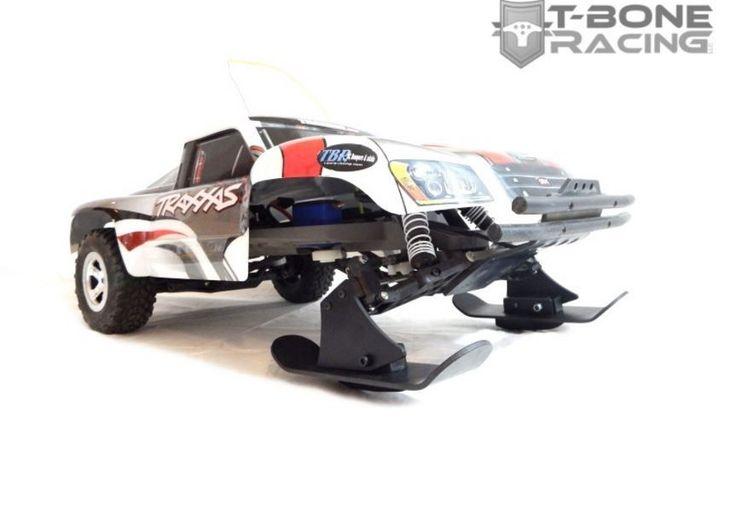 T-BONE RACING SNOW SKIS FOR 1/10 TRAXXAS SLASH 2WD