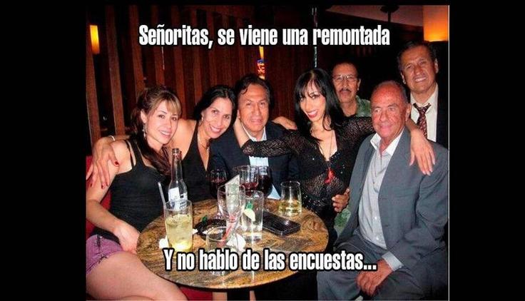 Memes de la fiesta y la suegra de #AlejandroToledo #Trome