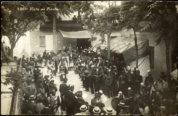 Vista de Fiesta : Ibi. (s.a.) - Anónimo