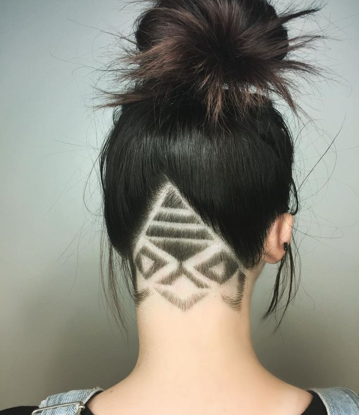 The Newest Intricate Undercut Hair Tattoo Trend