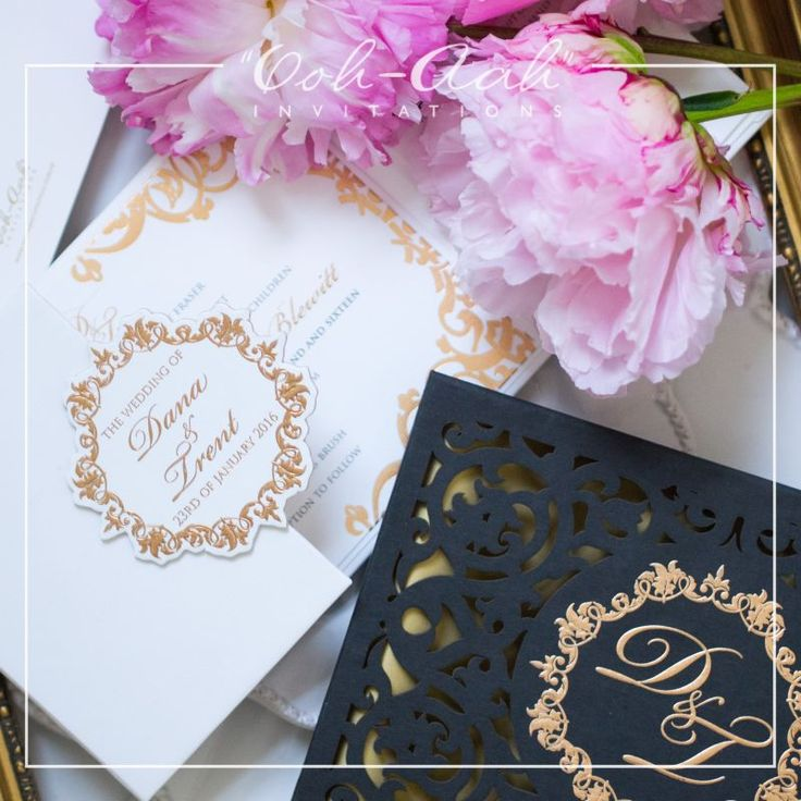 Laser Cut Boxed Invitation For Dana T Hard Cover Wedding Invitations Sydney Designed By
