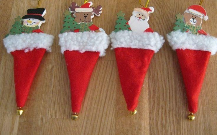 kerst muts poppetjes