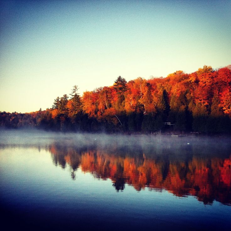 Sunrise for the books - McArthur Mills, Ontario