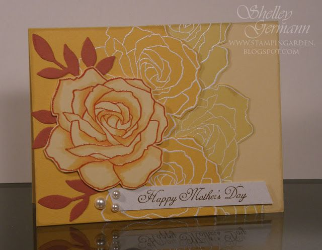 Stampin' Garden: Show CASE - Fifth Avenue Floral
