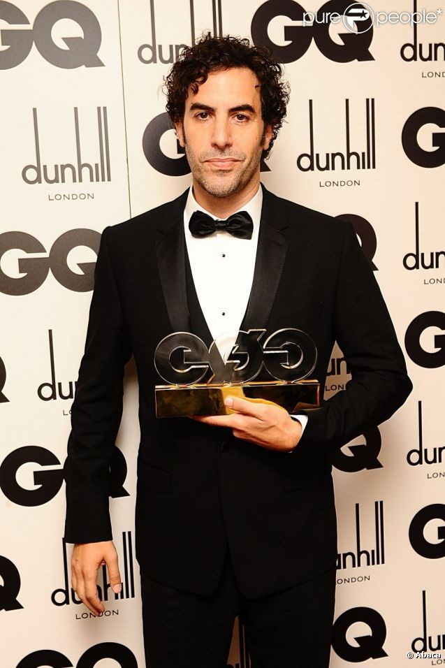 Sacha Baron Cohen, actor of the year @ GQ Men Of The Year Awards 2012