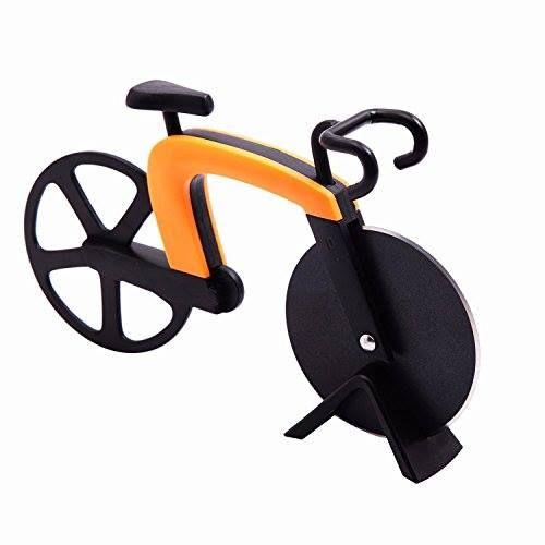 Cortador de pizza con forma de bicicleta http://www.milideaspararegalar.es/producto/cortador-de-pizza-forma-bicicleta/