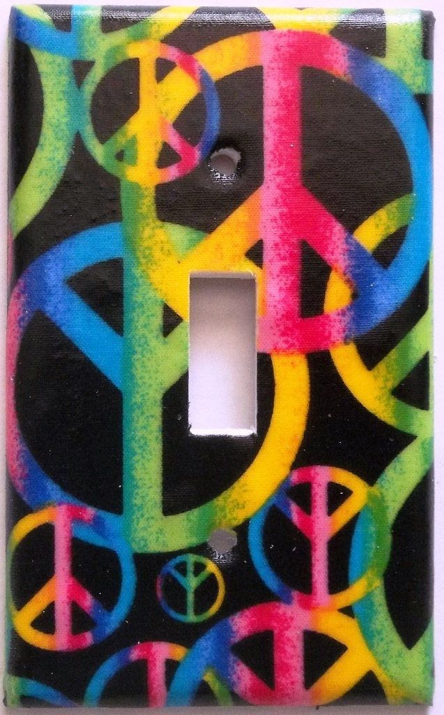Peace Sign Bedroom Accessories: 459 Best Light Switch Plates Images On Pinterest