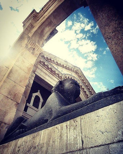 TGM for Split Dalmatia Croatia: Sphinxes in Split