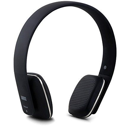 August EP636 Bluetooth Wireless Stereo NFC Headphones - Comfortable On-ear Headset with built-in Microphone and Rechargeable Battery - Compatible with Mobile Phones, iPhone, iPad, Laptops, Tablets, Smartphones (Red): Amazon.ca: Electronics