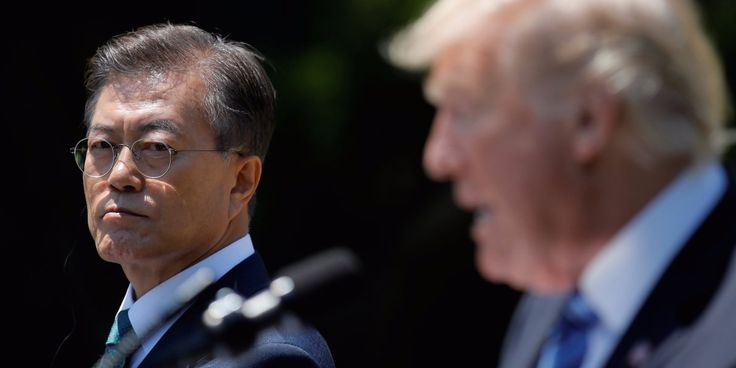 The South Korean president turned an unusual question from Trump into a teachable moment  ||  As they drank some tea, President Donald Trump reportedly asked South Korean President Moon Jae-in a simple question. http://www.businessinsider.com/trump-korea-reunification-north-korea-moon-jaein-2017-11?utm_campaign=crowdfire&utm_content=crowdfire&utm_medium=social&utm_source=pinterest