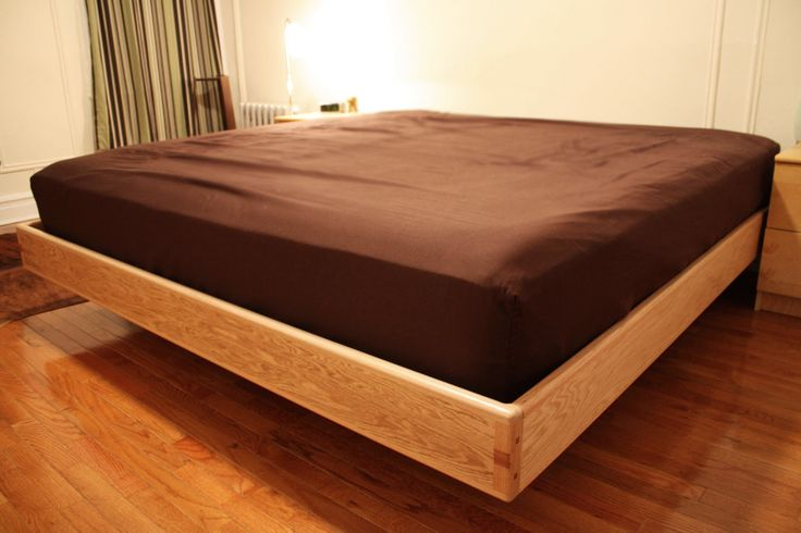 Best 10 floating platform bed ideas on pinterest for Floating platform bed with storage