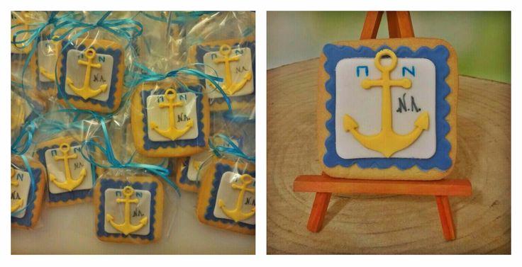 Navy cookies