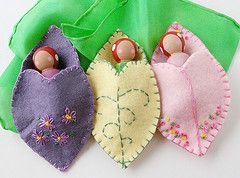 Woodland Peg Dolls--would be cute party favors...Birthday for A or baby shower