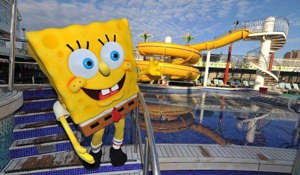 Cruceros Nickelodeon - vacaciones en familia