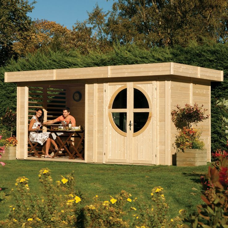 diy garden office. 8X17 Connor Shiplap Timber Summerhouse \u0026 Base Included | Departments DIY\u2026 Diy Garden Office