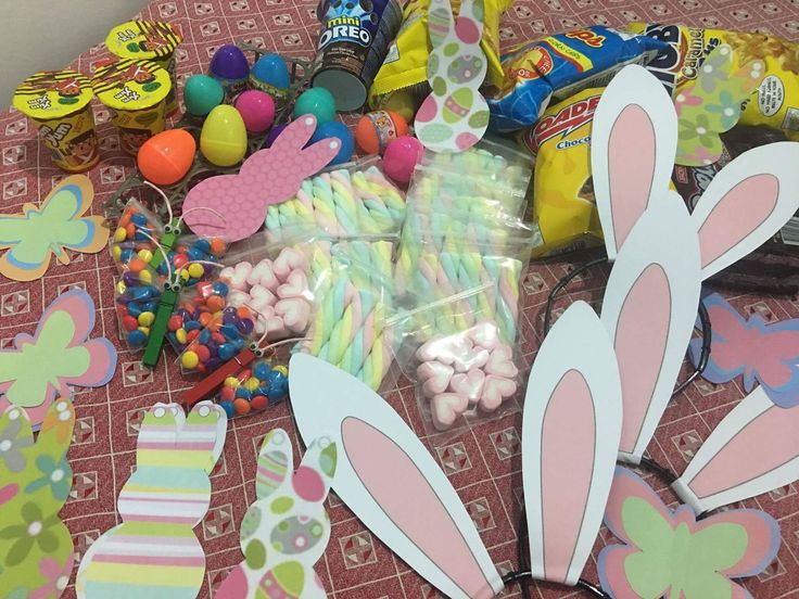 Tokens/Give away Gifts/Easter Bunny/Egg Hunt/m&m chocolates/marsmallows