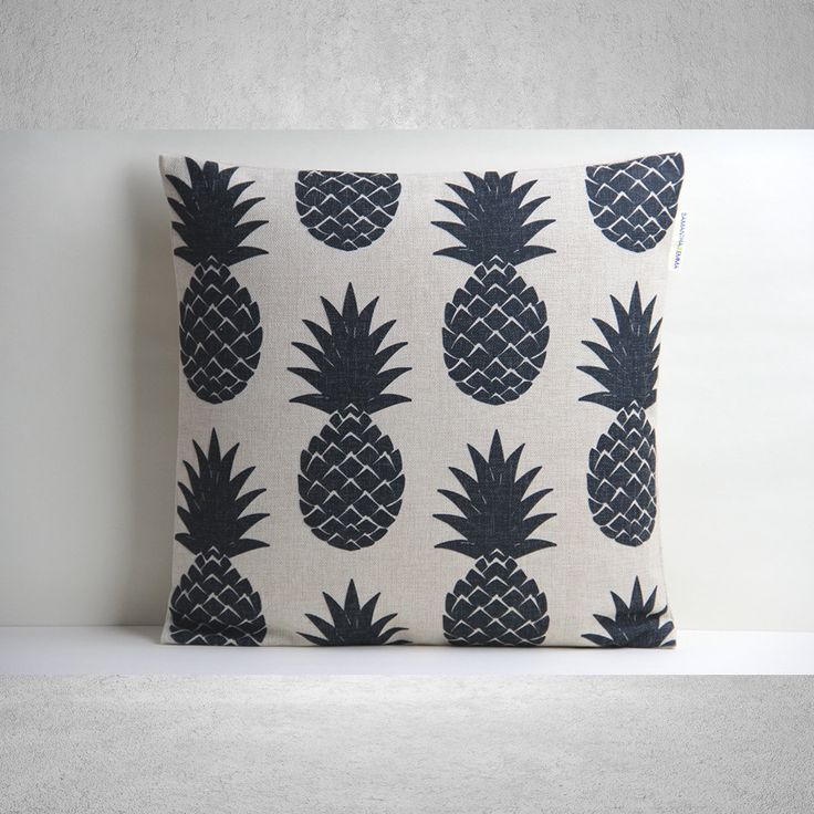 Coussins/couverture d'ananas, coussins/couverture, coussins décoratifs/couverture, taie d'oreiller, Coussin housse, housse de coussin lin, Throw Pillow - SamanthaEmma by SamanthaEmma on Etsy