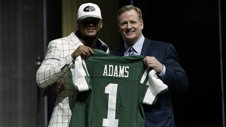 Jamal for the Win! With the 6th pick of the 2017 NFL draft, the New York Jets select Jamal Adams of LSU. Adams was selected 32 years after his father George Adams was selected by the New York Giants. Certainly, a New York State of Mind for the Adams Family.   #Football #Jamal Adams #LSU #New York Jets #NFL #NFL Draft