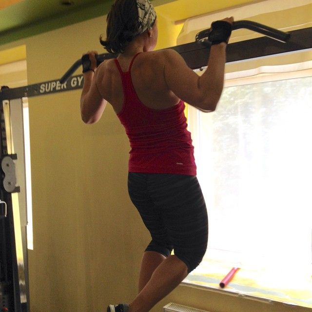 #pullups #fitness #sibworkout1 Мое любимое упражнение. Конкурс от @rusdudnik