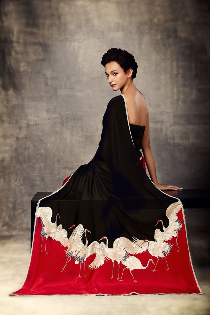 Ashdeen Saree (love everything about it; its classic, elegant and modern)