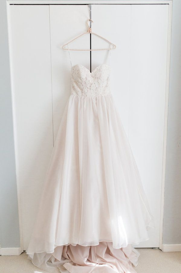 Gorgeous lace bodice gown: http://www.stylemepretty.com/canada-weddings/british-columbia/vancouver/2015/08/31/rustic-romantic-vancouver-wedding/ | Photography: Christine Pienaar