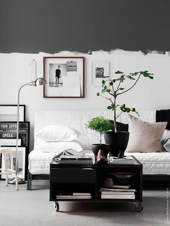 16x half geschilderde muren - Meubeltrack blog