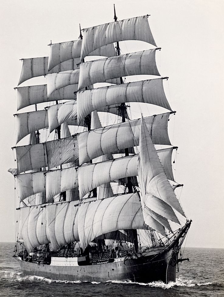 The Pamir was one of the last great windjammers. The four-masted barque was built in Hamburg and launched in July 1905 - On August 10, 1957 the Pamir left Buenos Aires for Hamburg with a crew of 86, including 52 merchant marine cadets. On September 21, 1957 she was caught in Hurricane Carrie before shortening sails. She was apparently unaware of the hurricane, being caught with open hatchways,only four crew members and two cadets were ever found. The rest of the crew perished near the…