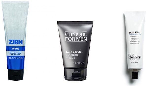 soin visage homme exfoliant gommage visage homme