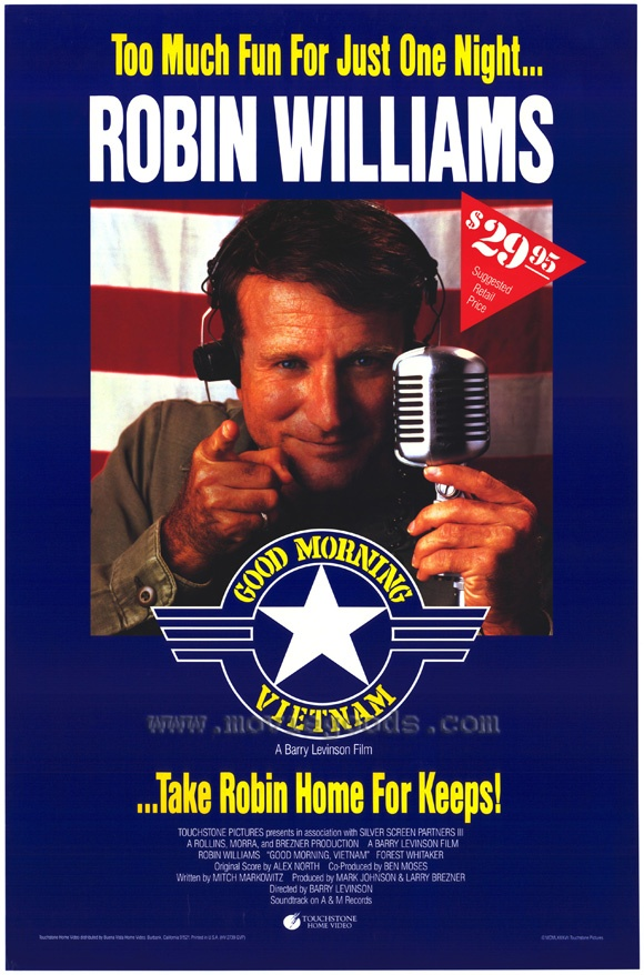 Good Morning, Vietnam (1987) - Click Photo to Watch Full Movie Free Online.